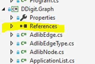 References Highlighted AdlibGraph
